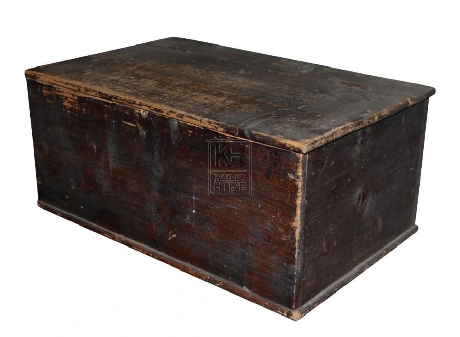 Plain Dark Wooden Box