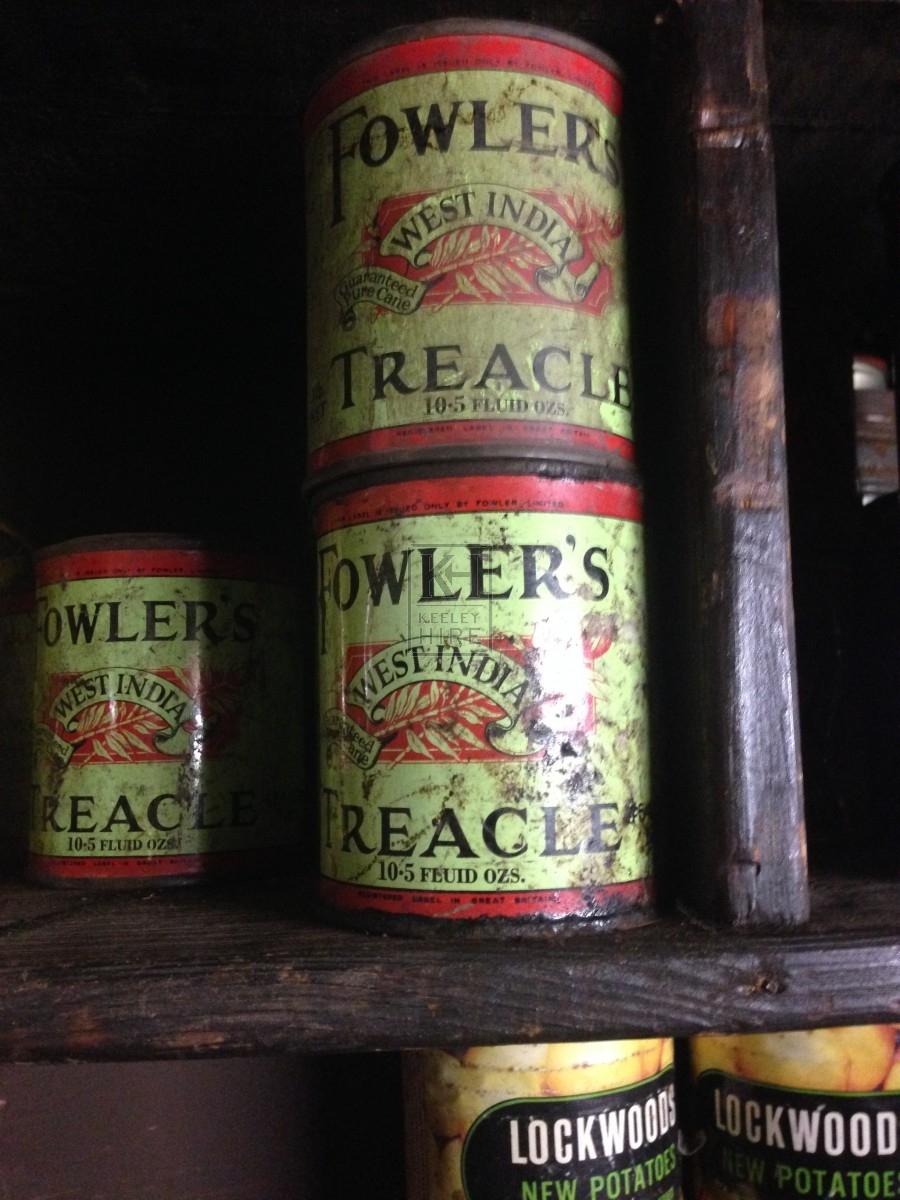 Fowlers Treacle Tin