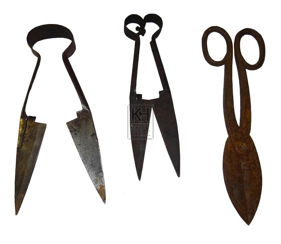 Assorted shears