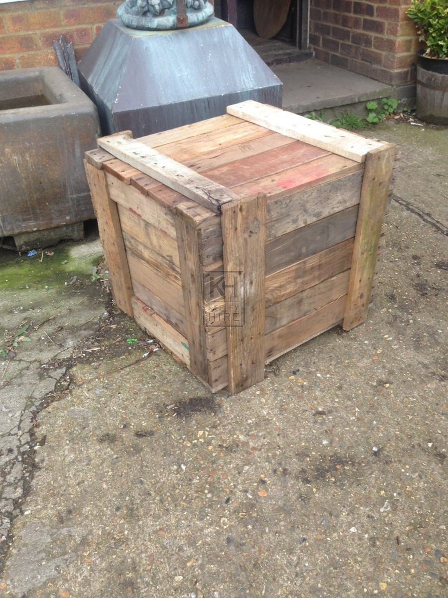 Small Square Crate