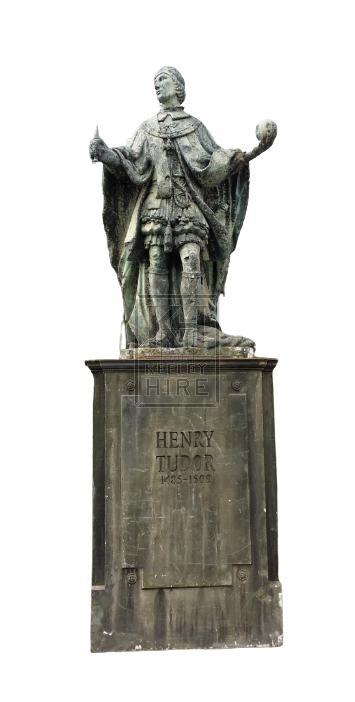 Large Henry VIII statue on plinth
