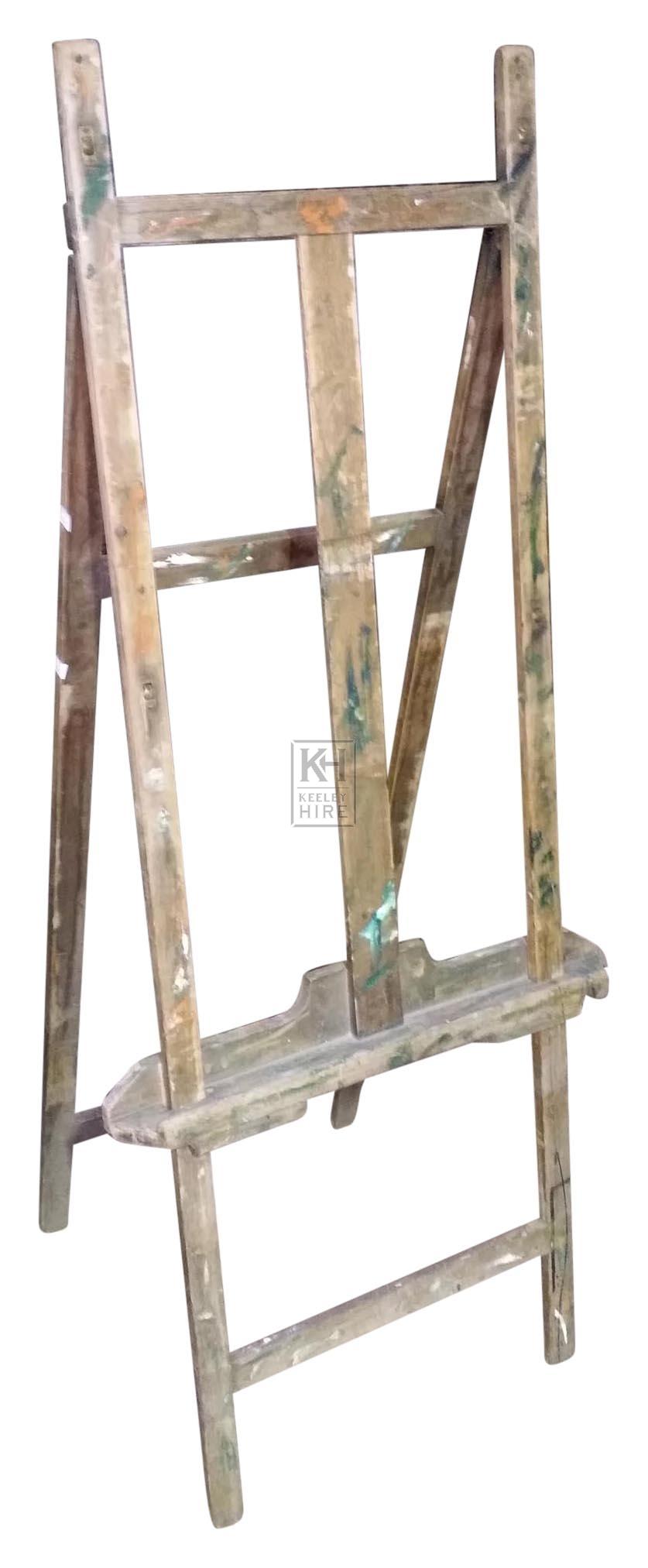 Freestanding artist easel