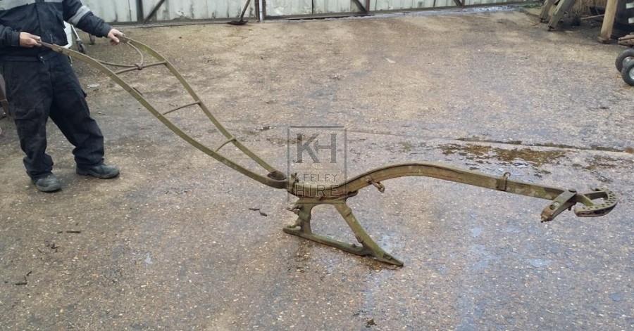 Iron plough