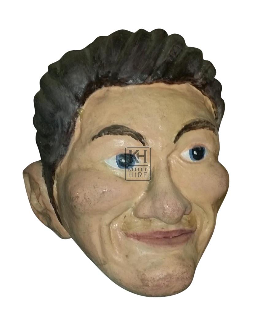 Giant head Man