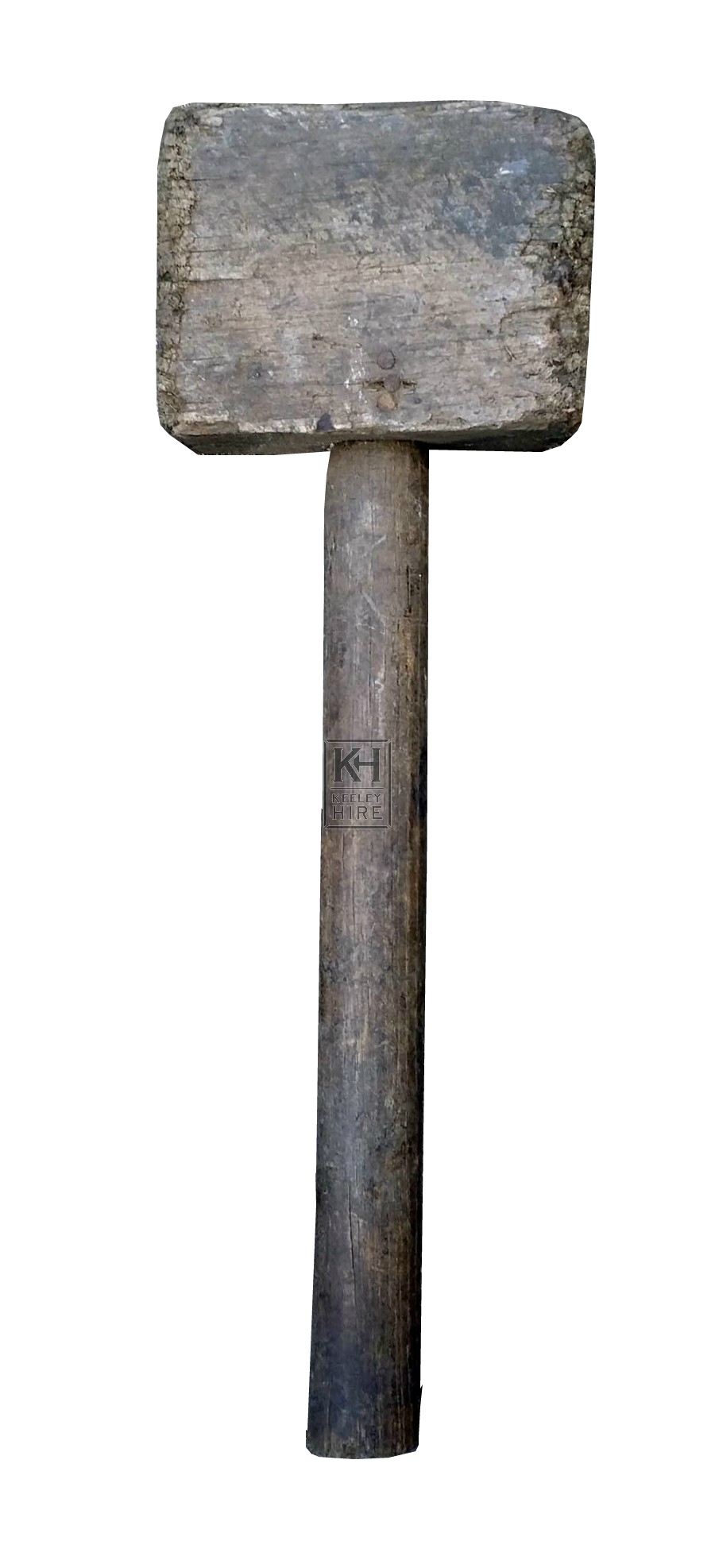 Square wood mallet