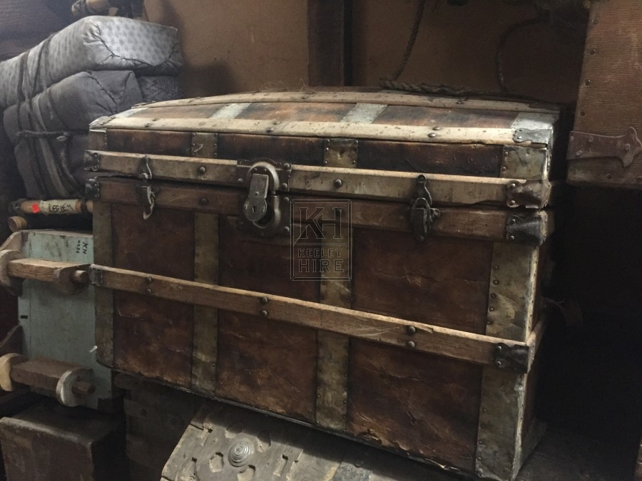 Dome Top Triple Latch Chest