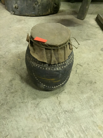 Decorative Pot with Cloth Lid