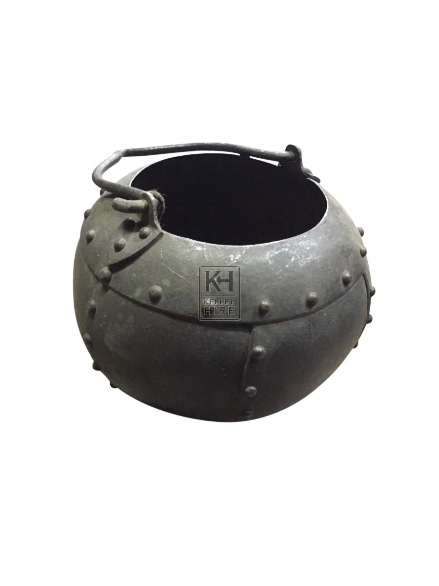 Small Studded Cauldron