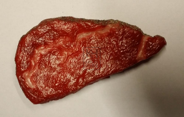 Large beef steak