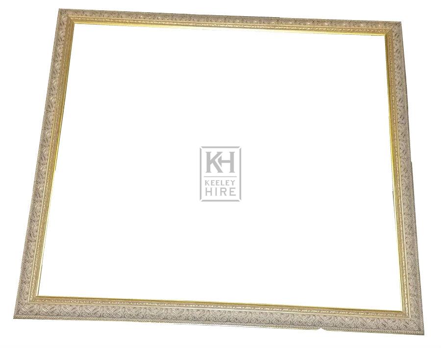 Smart ornate gold frame