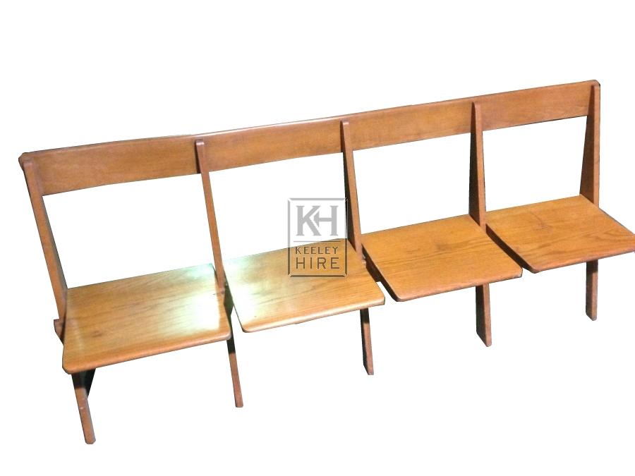 Folding Row Seating