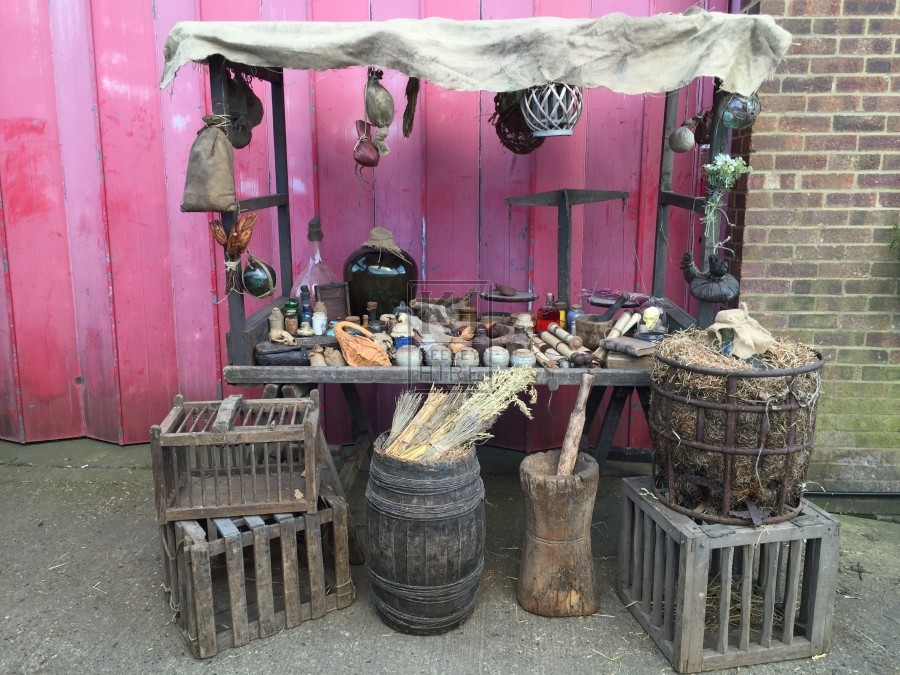 Apothecary Market Stall Dressing