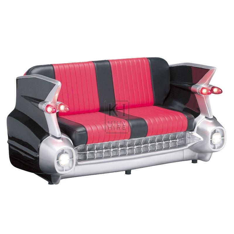 Black Cadillac Car Sofa Seat