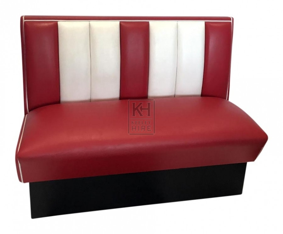 American Diner Bench