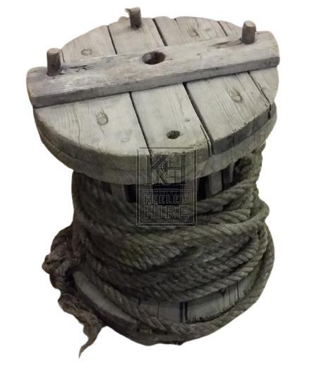Large wood reel