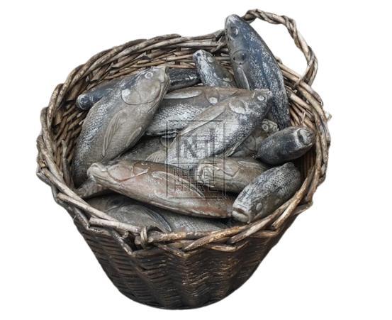 Rubber grey fish