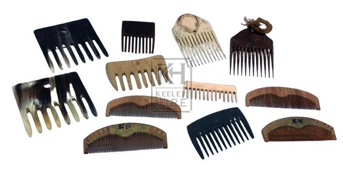 Misc combs