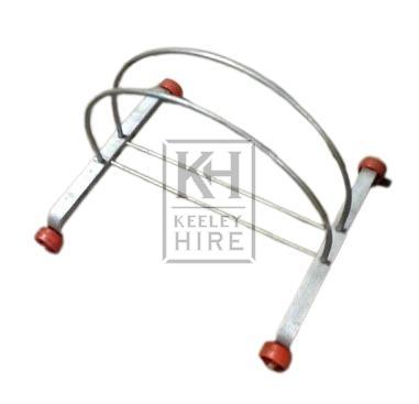 Metal bike stand