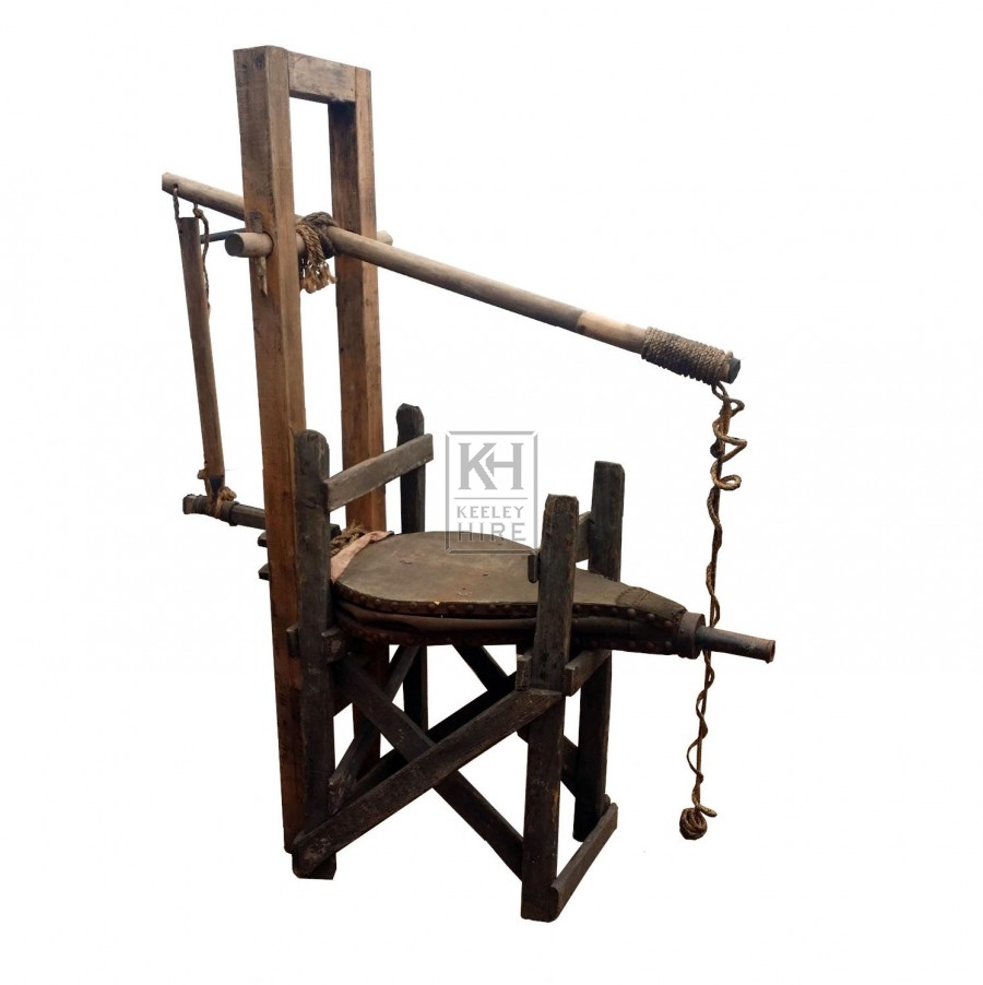 Large bellows on wood frame