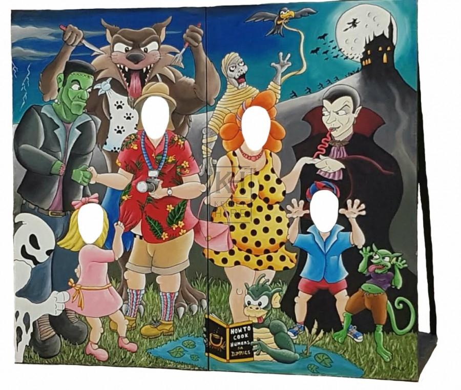 Halloween Photo Board