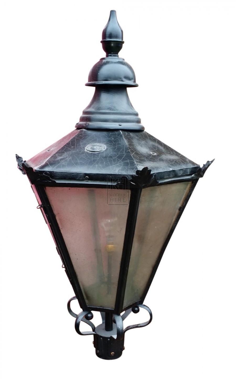Hexagonal Lamp Top