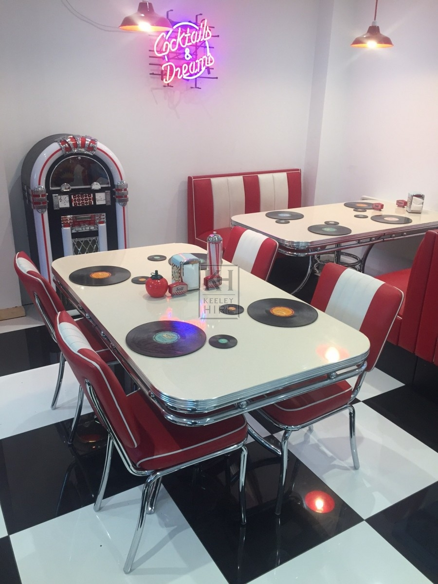 American Diner Rectangle Table