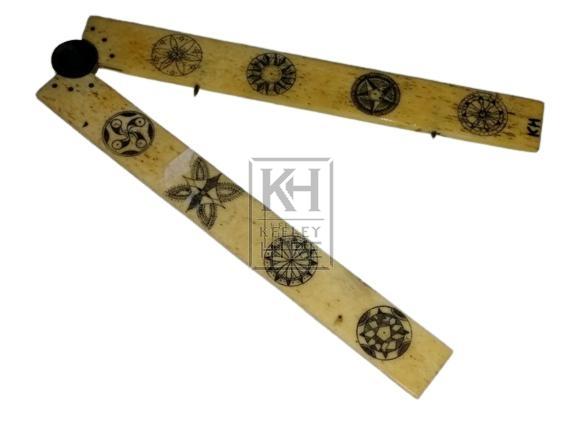Scrimshaw dividers