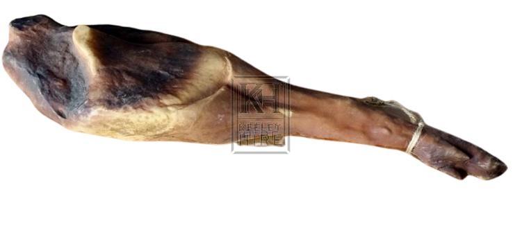 Ham with hoof