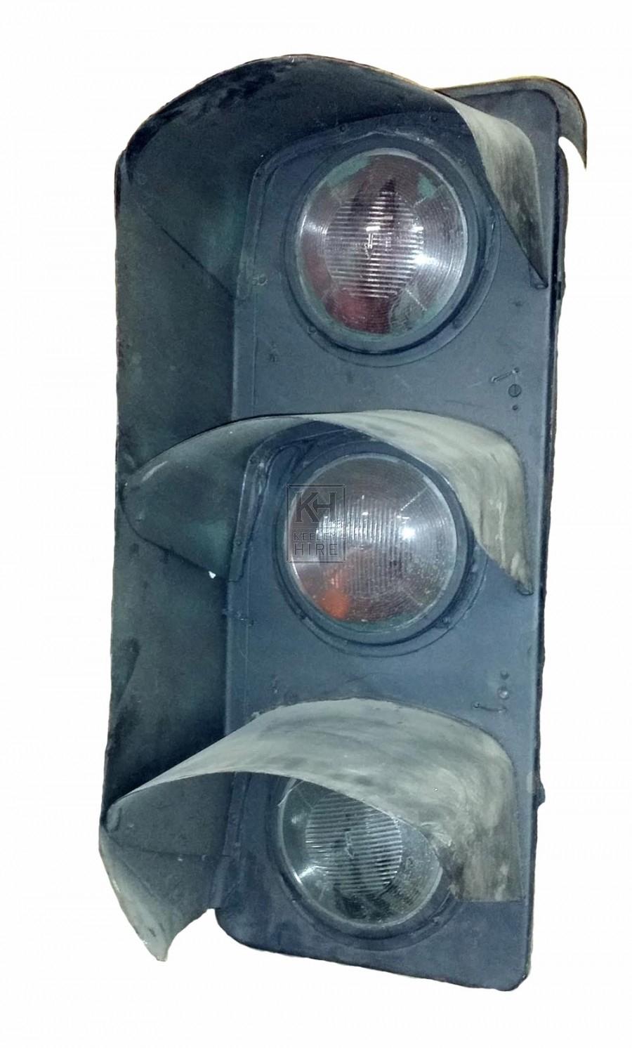 Large traffic lights