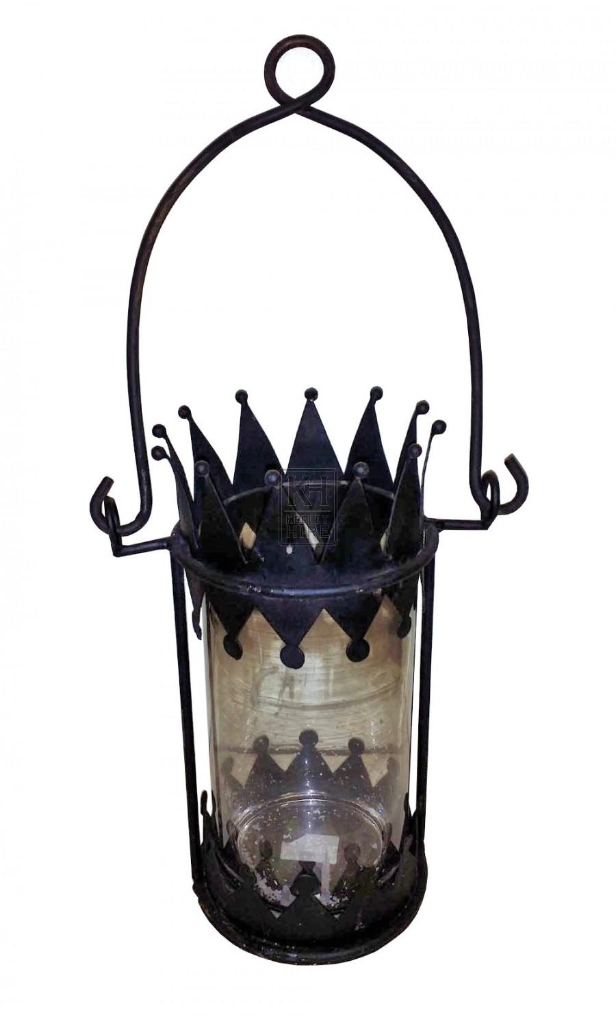 Crown shaped lantern