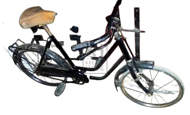 Black period childrens bicycle