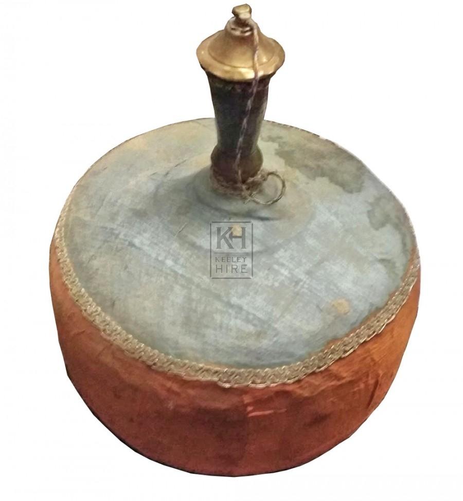 Bulbous ornate bottle