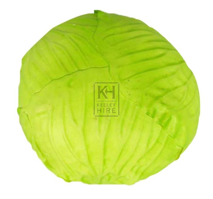 Round green cabbage