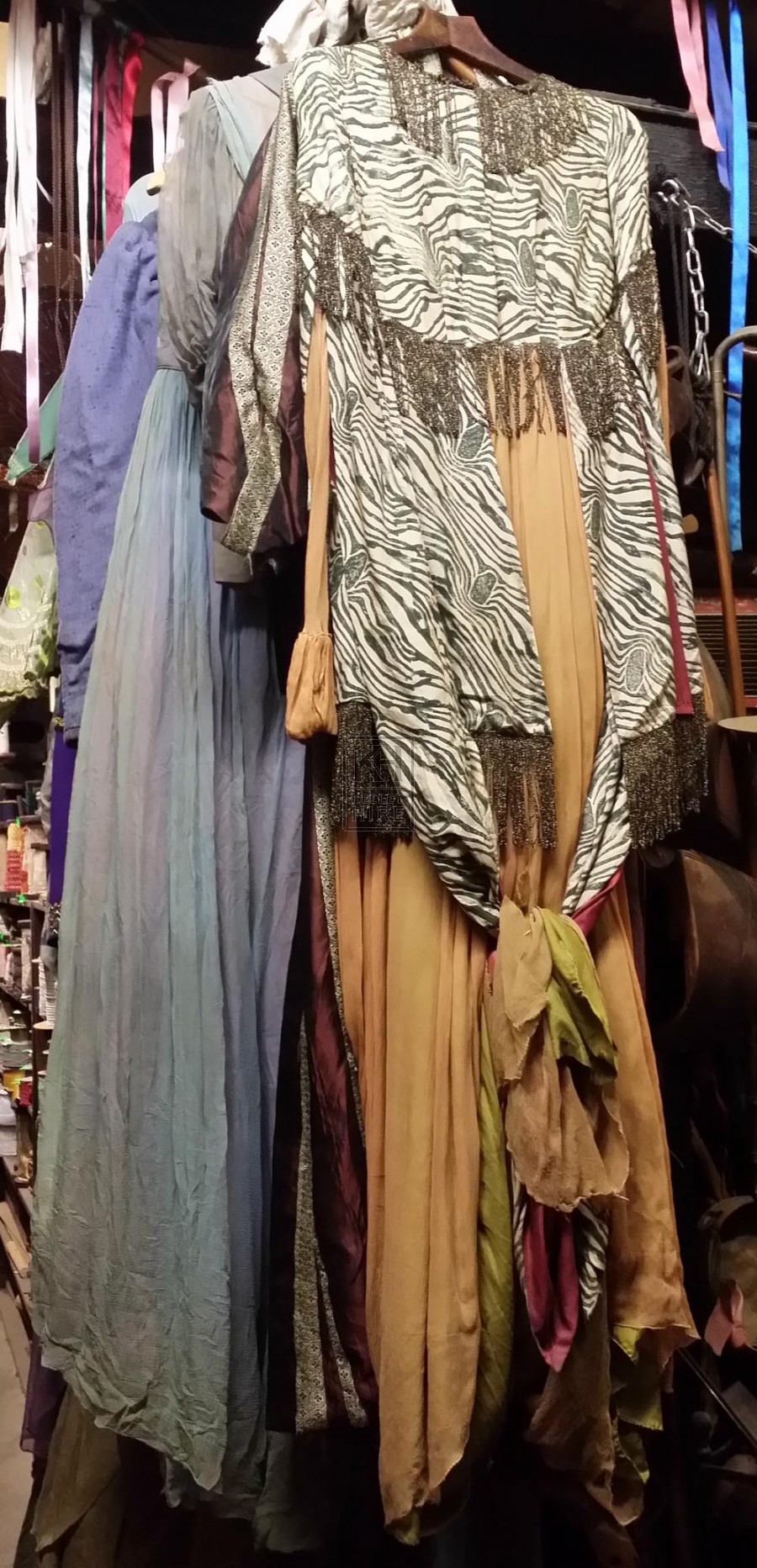 Assorted theatrical costumes