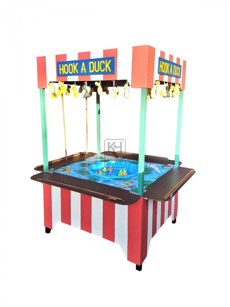 Hook a Duck fairground stall