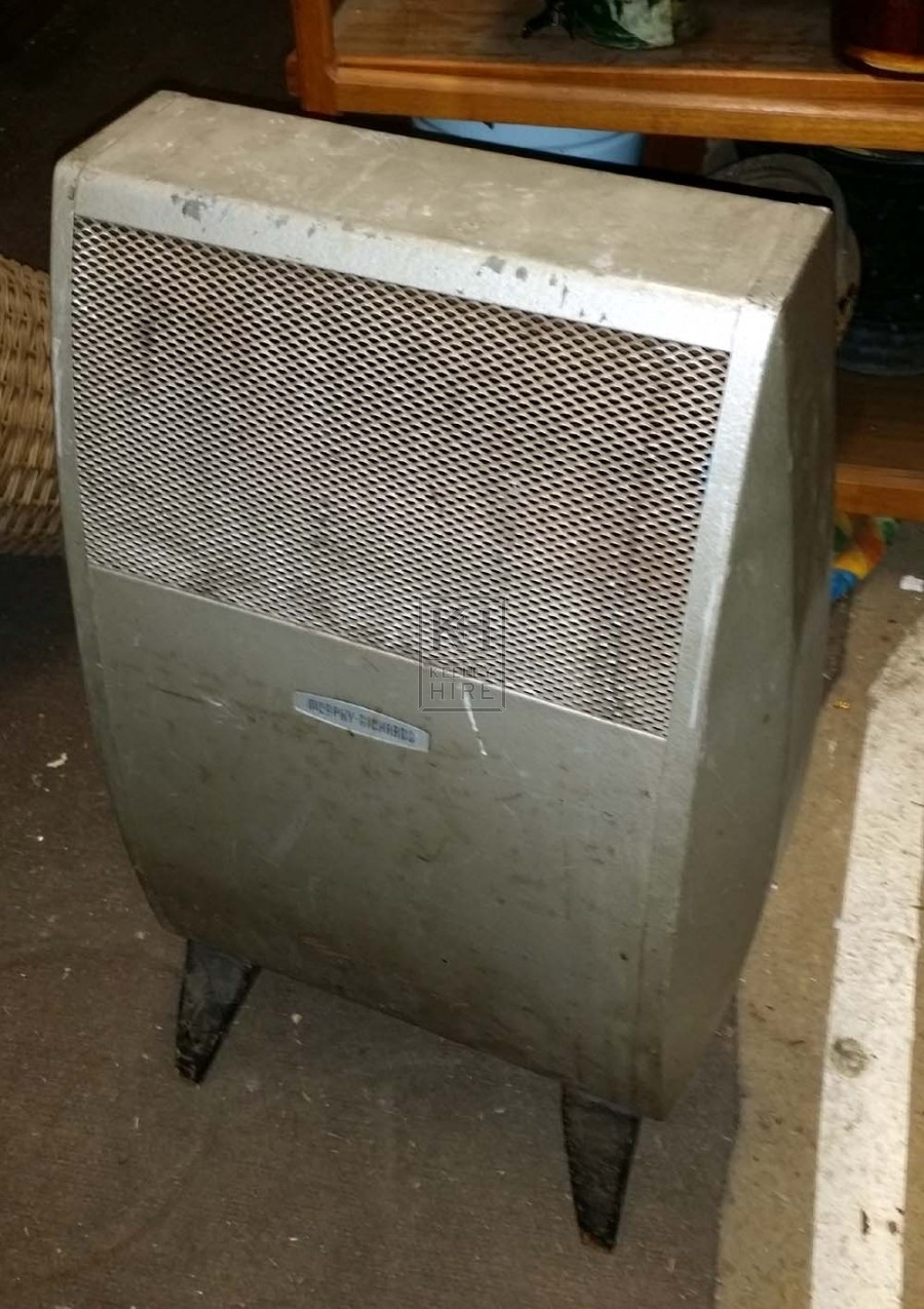 Old electric heater