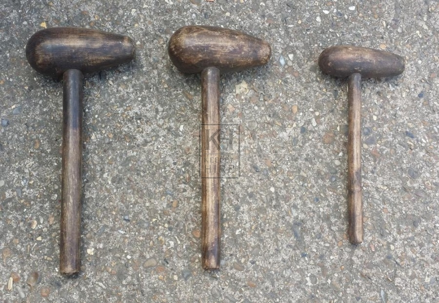 Shaped mallet