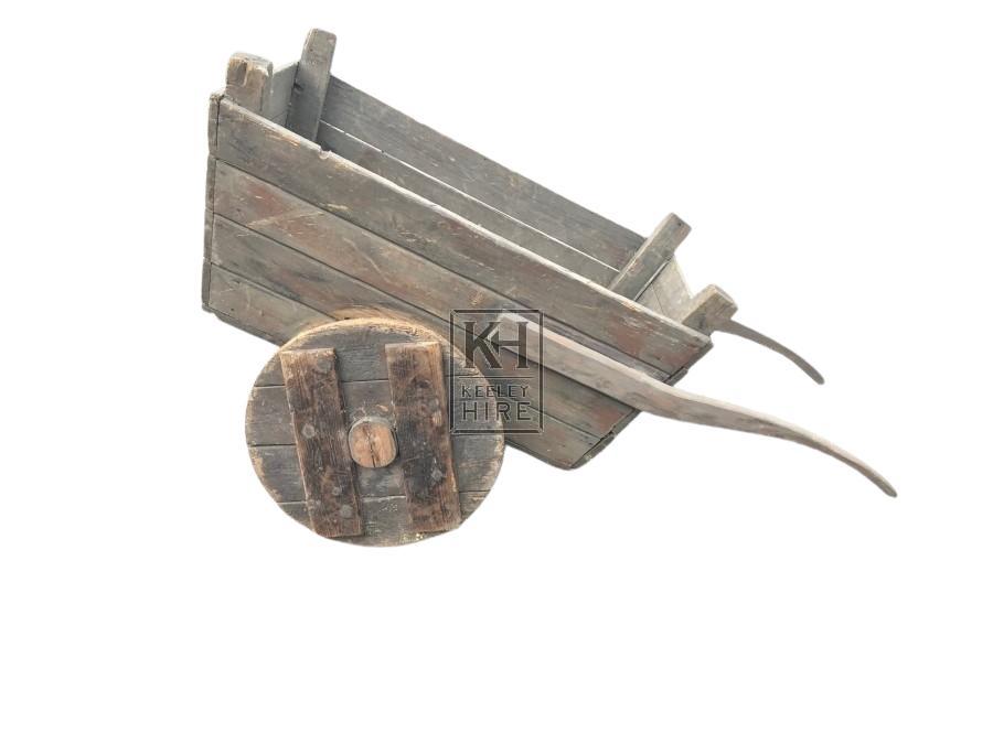 Solid Wheel Cart Barrow