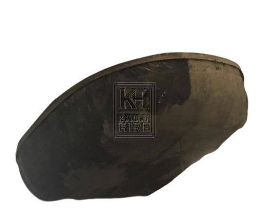 Oval skin boat