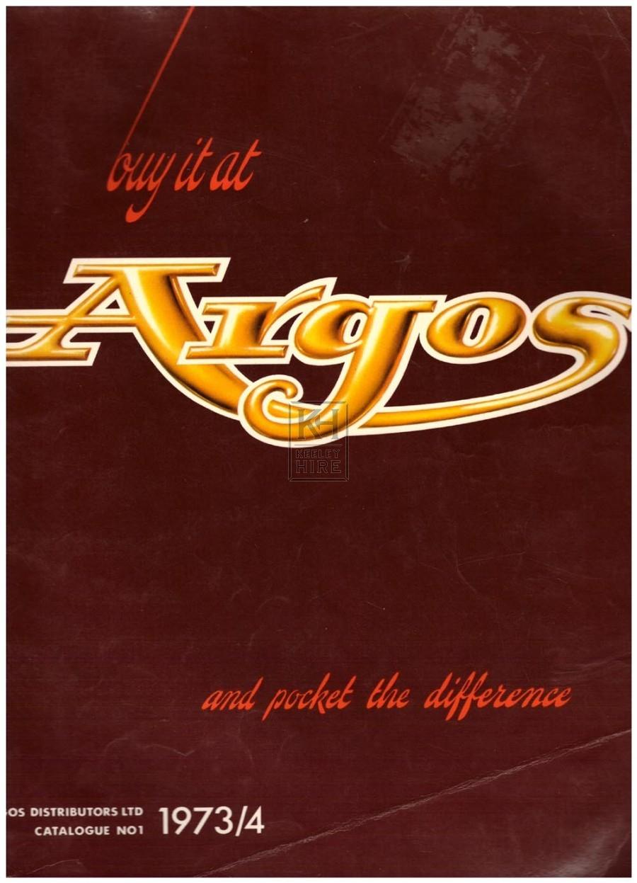 Argos Autumn Winter 1973/4