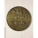 Hanging Brass Decorative Plate