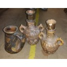 Greek pottery urns
