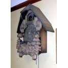 Pointed roof cuckoo clock