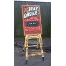 Beat the Guesser fairground stand