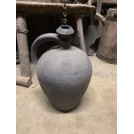 Black Stoneware Bottle