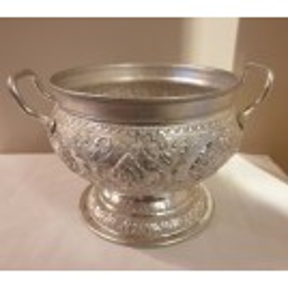 Ornate Silver Tureen