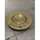Small Ornate Brass Plate