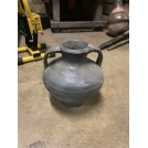 Dark 2 Handled Bulbous Urn - Small