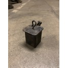 Small Square Iron Inkwell with Hook