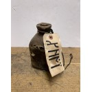 Leather Wrapped Bottle with Runic Tag